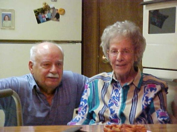 Uncle Pat and Aunt Margaret
